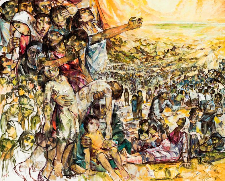 Resultado de imagen para ismail shammout paintings